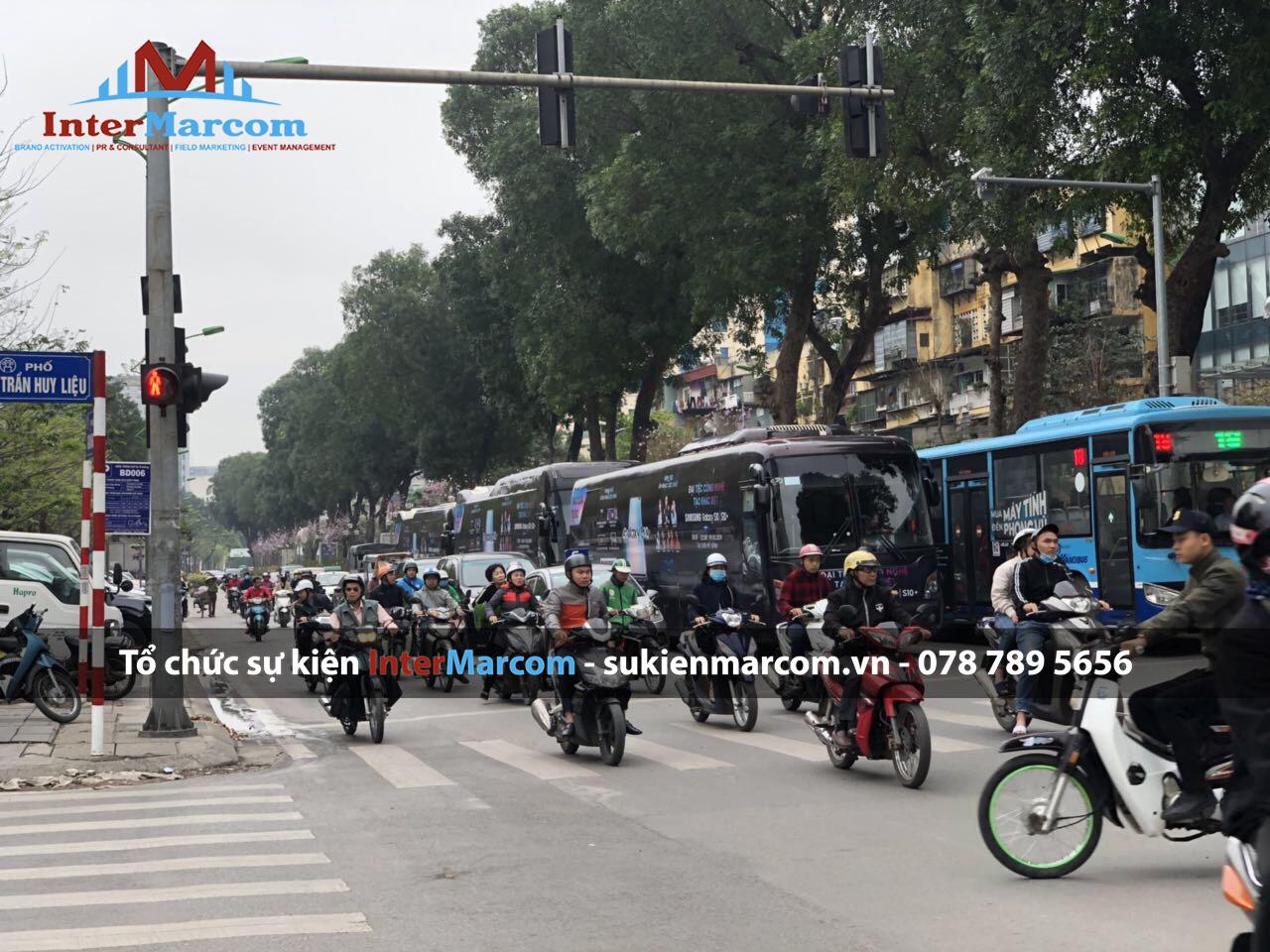 Tổ chức roadshow xe buss